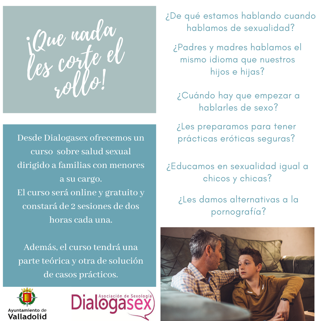 Educación sexual para familias - Dialogando con nuestros/as hijos/as